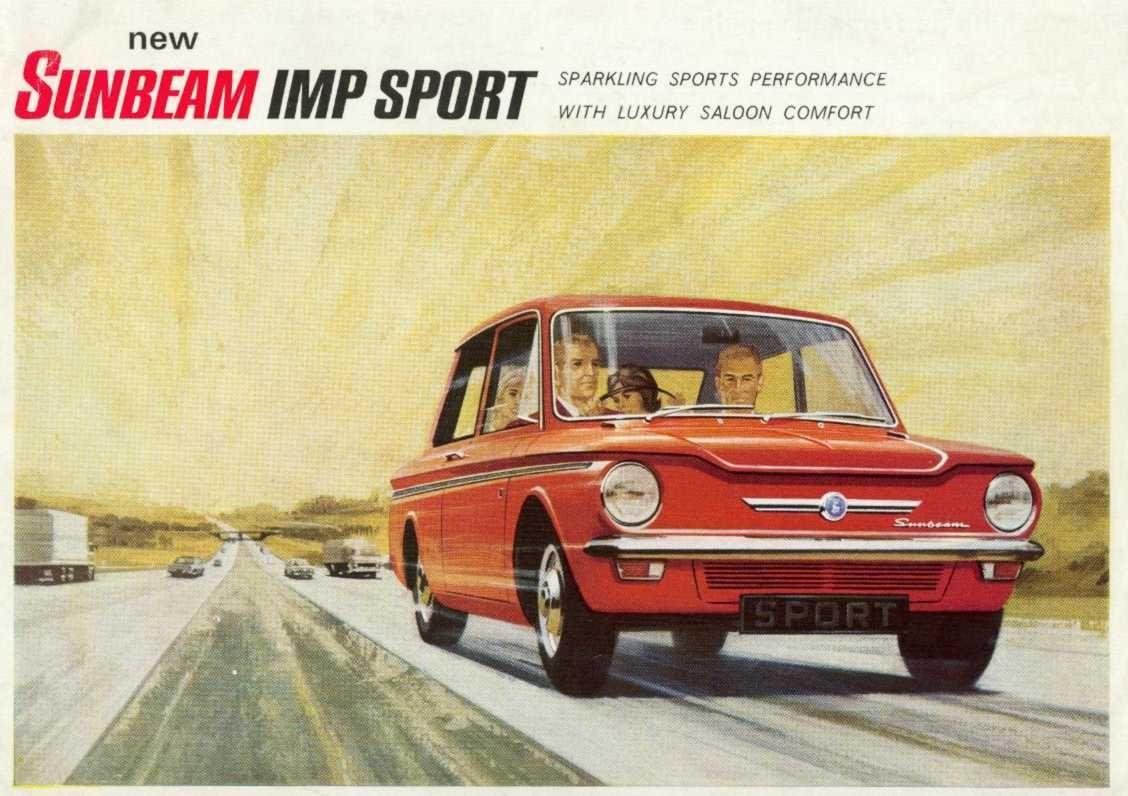 All sunbeam car company models list of sunbeam car company cars - Sunbeam Imp Sport Ad Michael Carterbritish Carcar