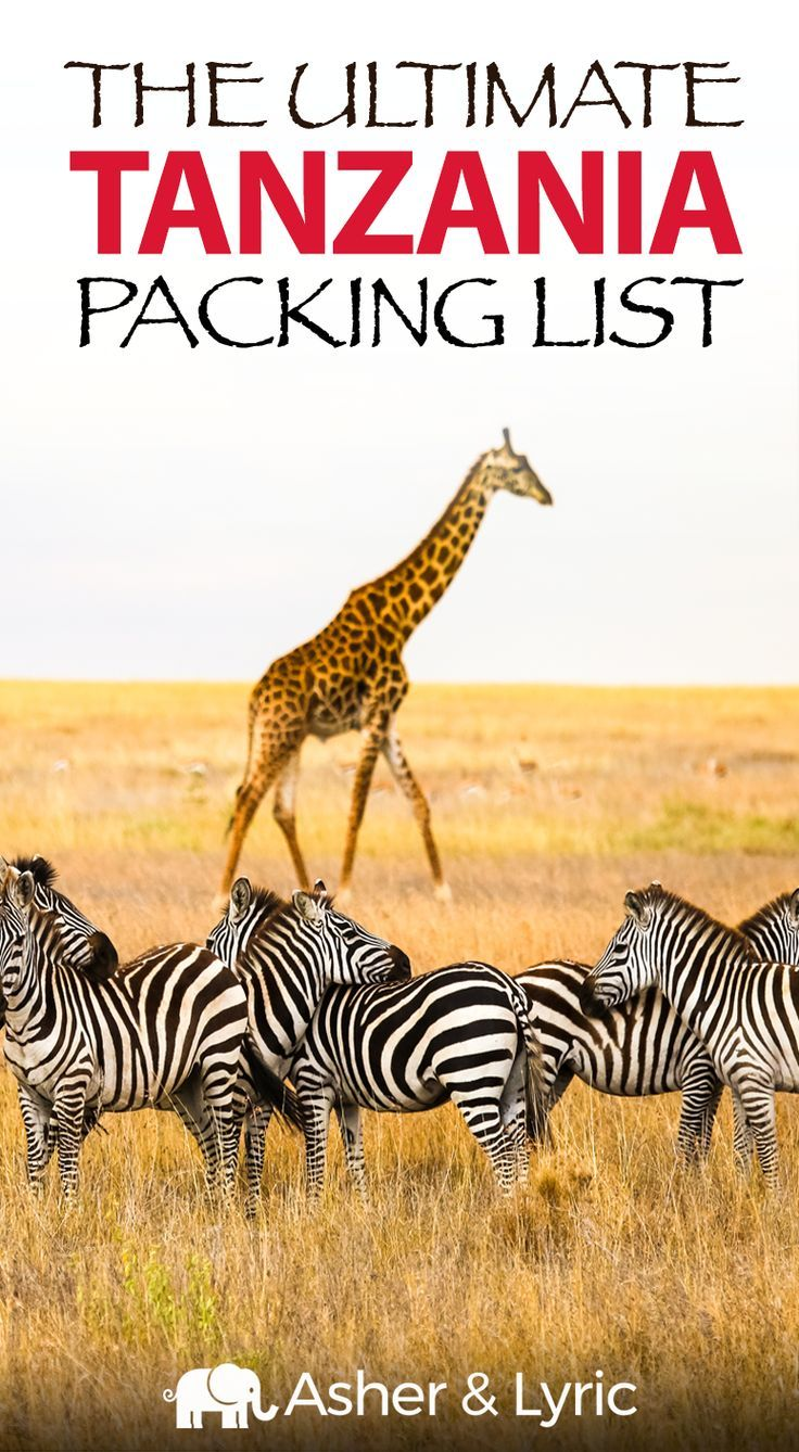 17 Top Tanzania Packing List Items + What NOT to Bring (2018 Update). We've put together the ultimate list of what to pack for Tanzania. Learn what to wear, what NOT to bring, and check out the answers of Tanzania travel FAQs. #Tanzania #Africa #PackingList
