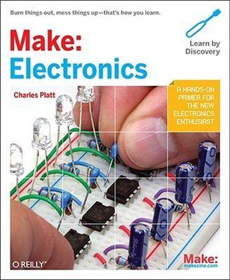 Make: Electronics Book | ELECTRONIC - BASIC\'S | Pinterest | Books ...