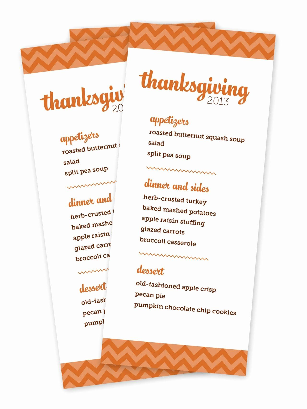 New Menu Template Free Printable In With Images