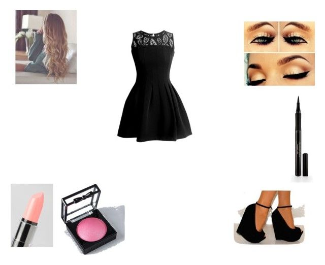 """""""Sin título #345"""" by mechi-caligiuri ❤ liked on Polyvore featuring NYX and Elizabeth Arden"""