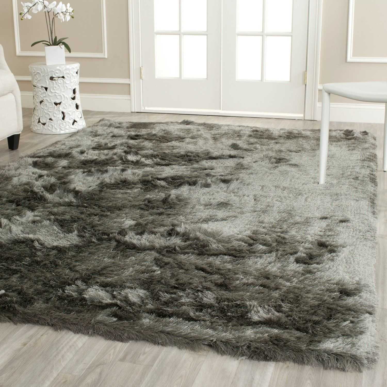 Carpet: Hughapy Home Decorator Modern Shag Area Rugs Super Soft Solid  Living Room Carpet Bedroom