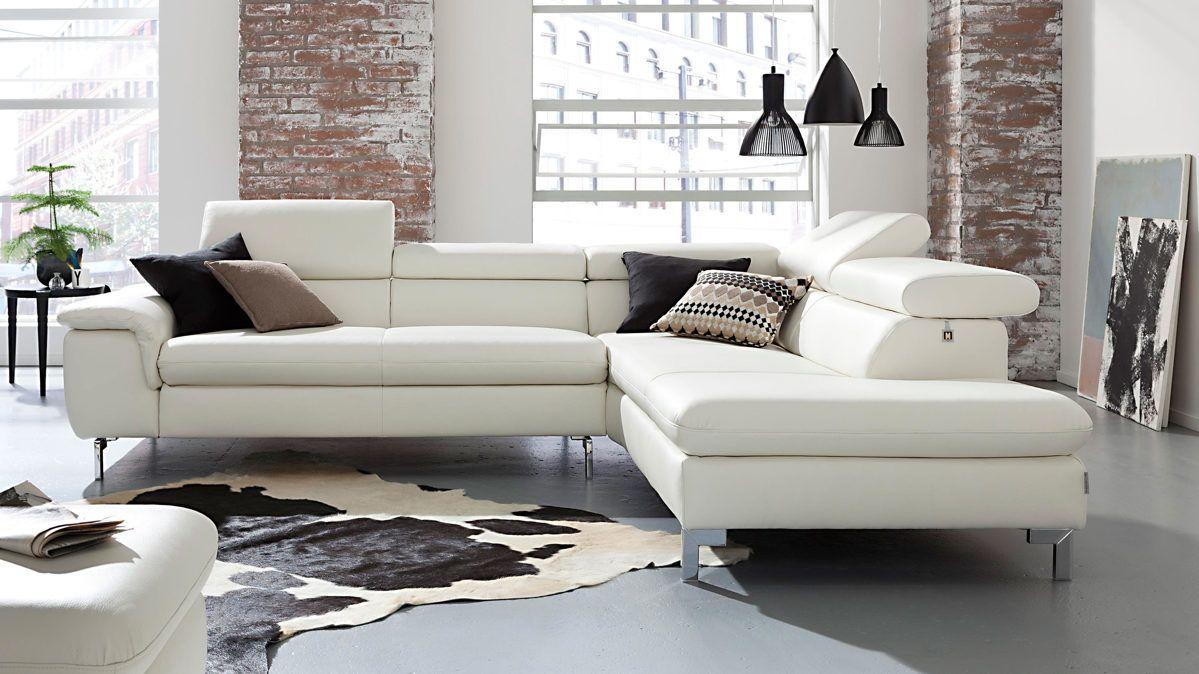 Ledersofa weiß  Die besten 25+ Schillig sofa Ideen auf Pinterest | Ledersofa ...