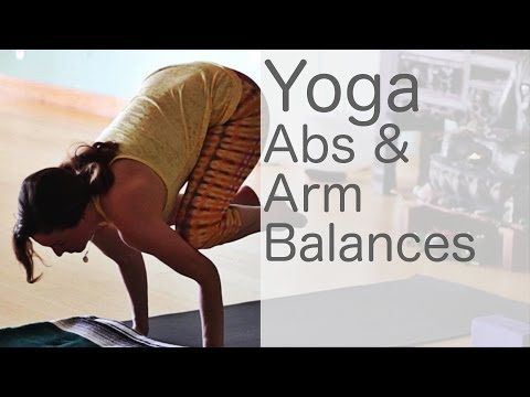 -Abs and arms balances with Lesley Fightmaster. Enjoy :-)
