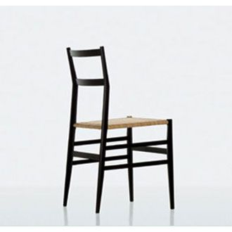 Gio Ponti Super Light Chair. Post War Italian Modern.
