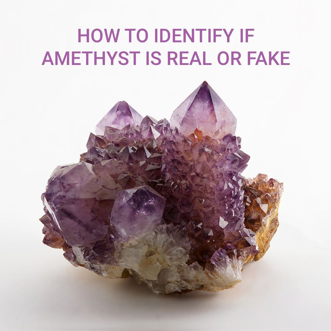 How To Identify If Amethyst Is Real Or Fake Tarot Amethyst Crystals