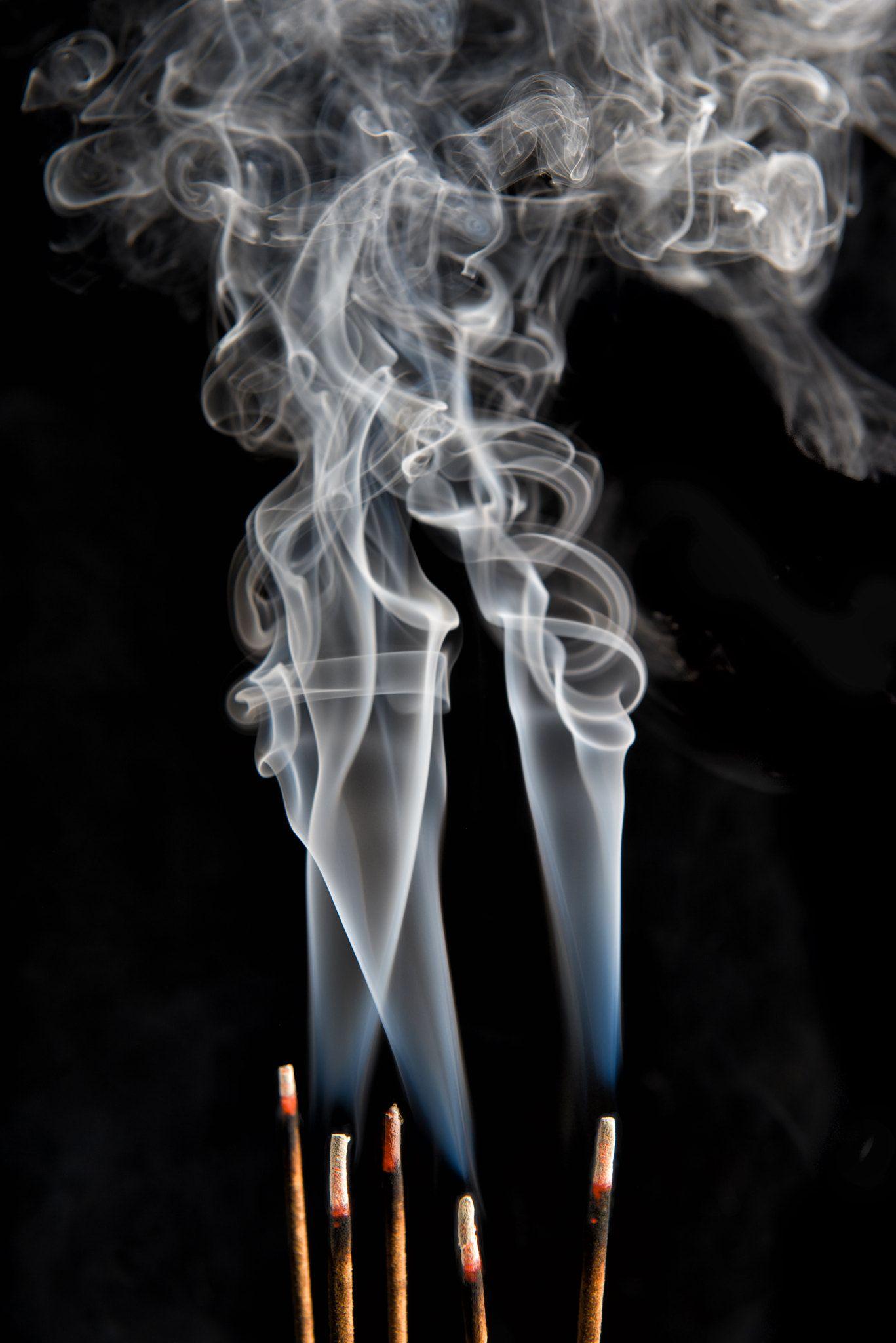 Incense Stick Smoke Photography