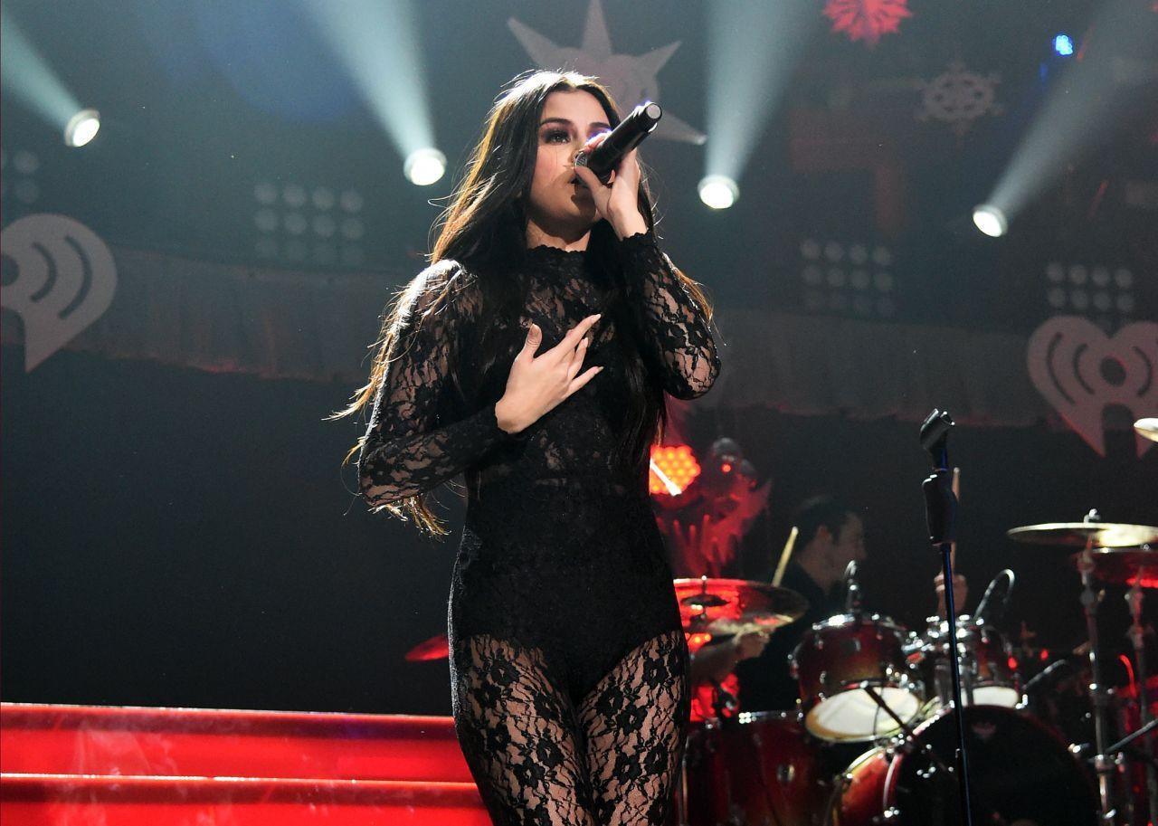 Selena Gomez Performs at 102.7 KIIS FM's Jingle Ball 2015 in Los Angeles