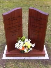 Wooden Memorials - Wooden Headstones, Crosses & Cremation Tablets