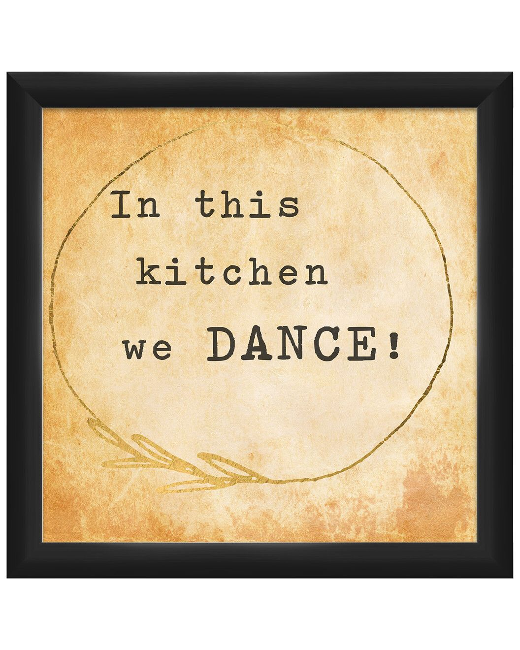 You need to see this In This Kitchen We Dance Framed Giclee Print on Rue La La.  Get in and shop (quickly!): https://www.ruelala.com/boutique/product/102162/32284726?inv=ailiescu02&aid=6191