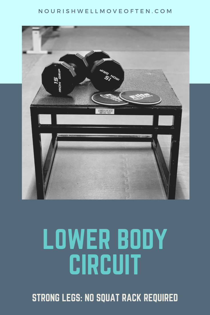 Keep your lower body strong and capable without having to set up camp at the squat rack. #lowerbody...