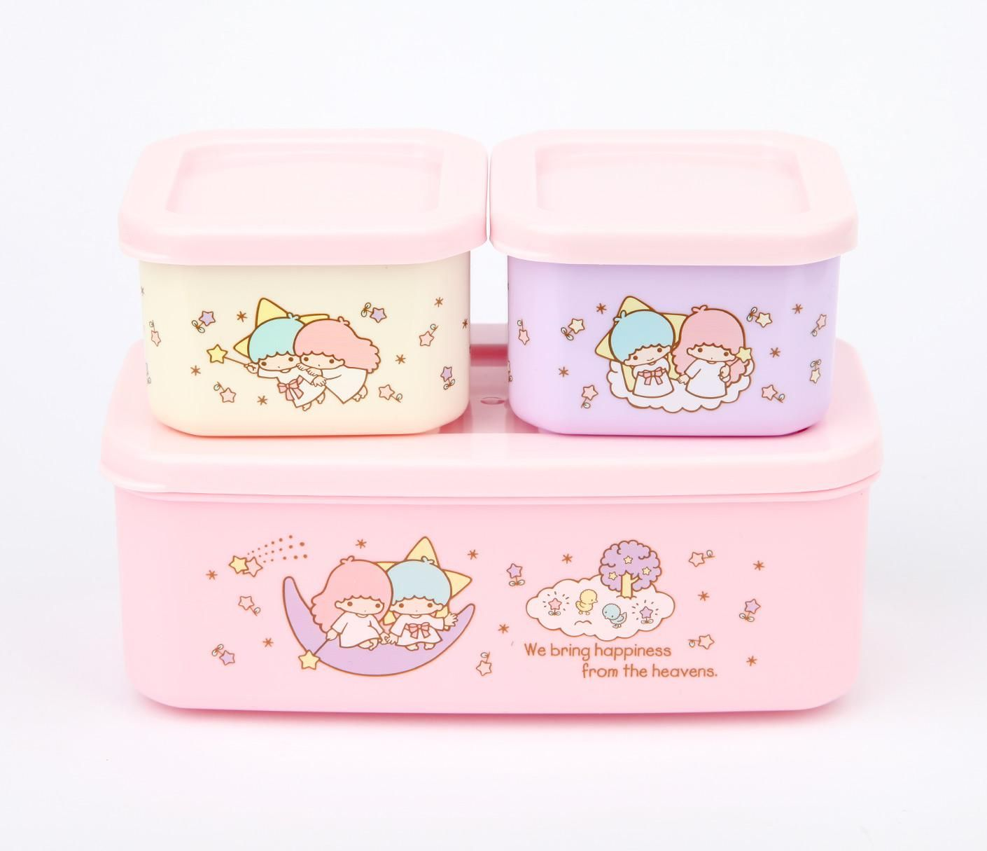 Sanrio My Melody Bottle type 3-stage Lunch Box F//S From Japan