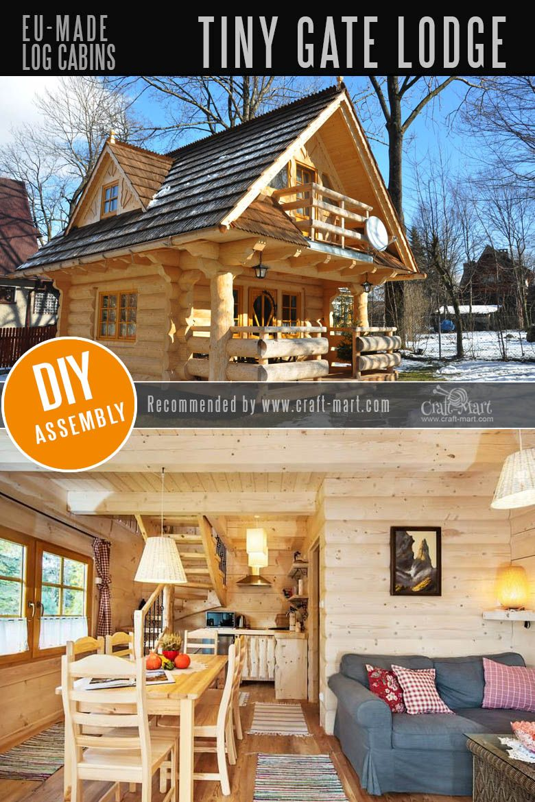 Amazing Fairy TaleStyle Log Cabin Homes Pre built