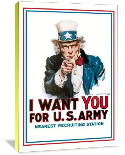I want YOU for U.S. Army!