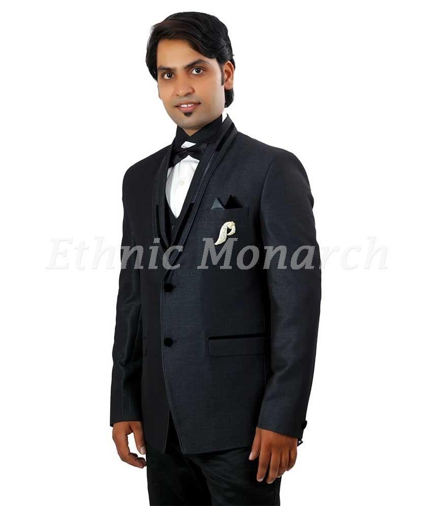 Five Piece Designer Tuxedo. Wedding wear, groom dress , party wear ...