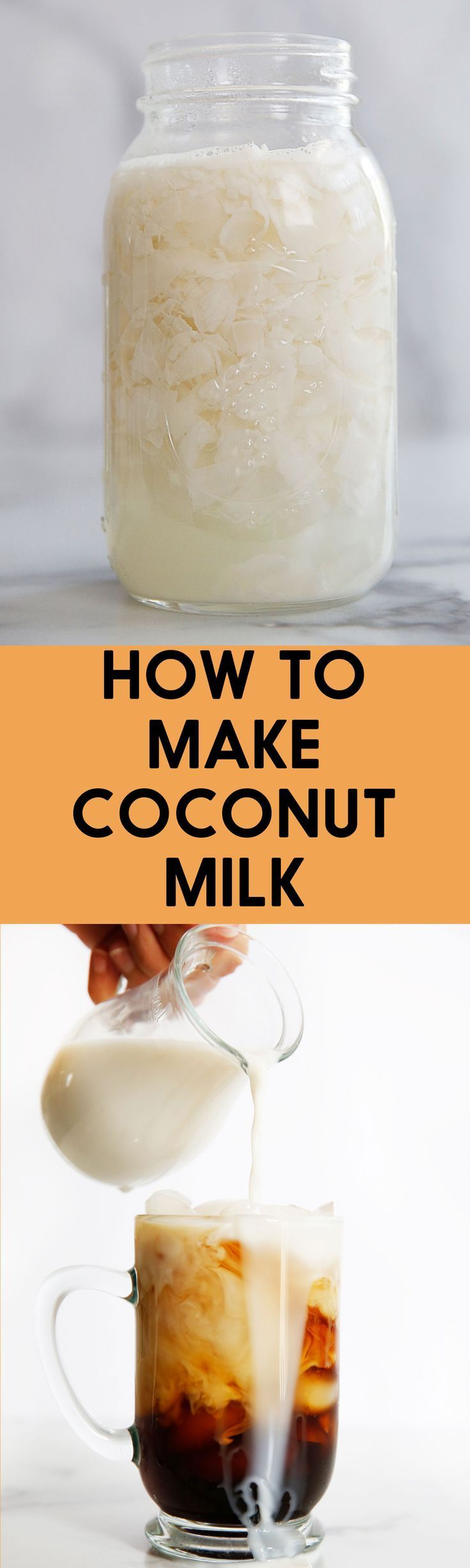 How to make coconut milk at home lexis clean kitchen