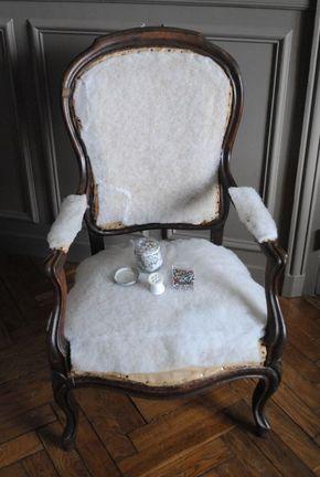 diy retapisser un fauteuil 04 tuto meuble en 2019. Black Bedroom Furniture Sets. Home Design Ideas