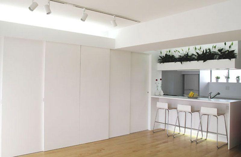 Puertas correderas con riel en techo ideas piso jorge - Riel puerta corredera ...