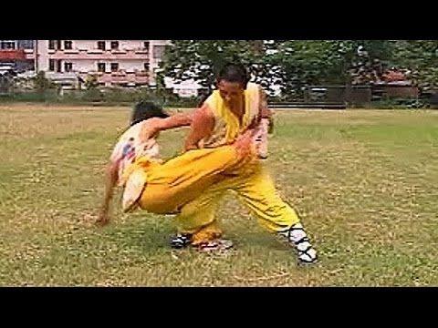 Shaolin kung fu combat: 19 throws - YouTube | Shaolin