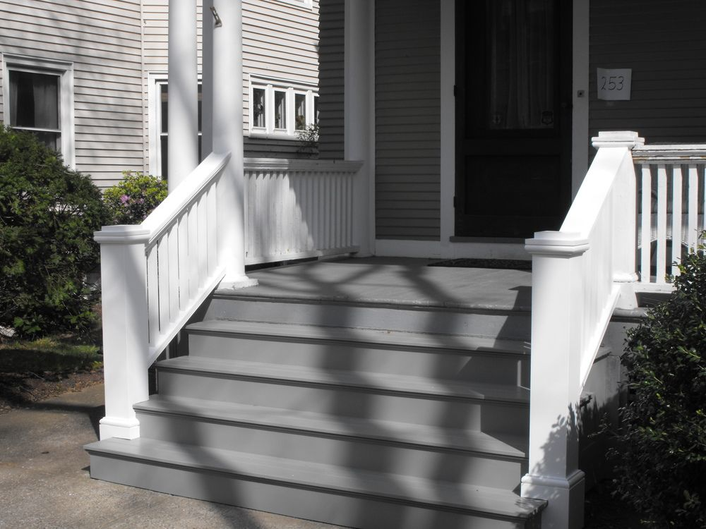 steps to enclosed front porch porch stairs brian casey