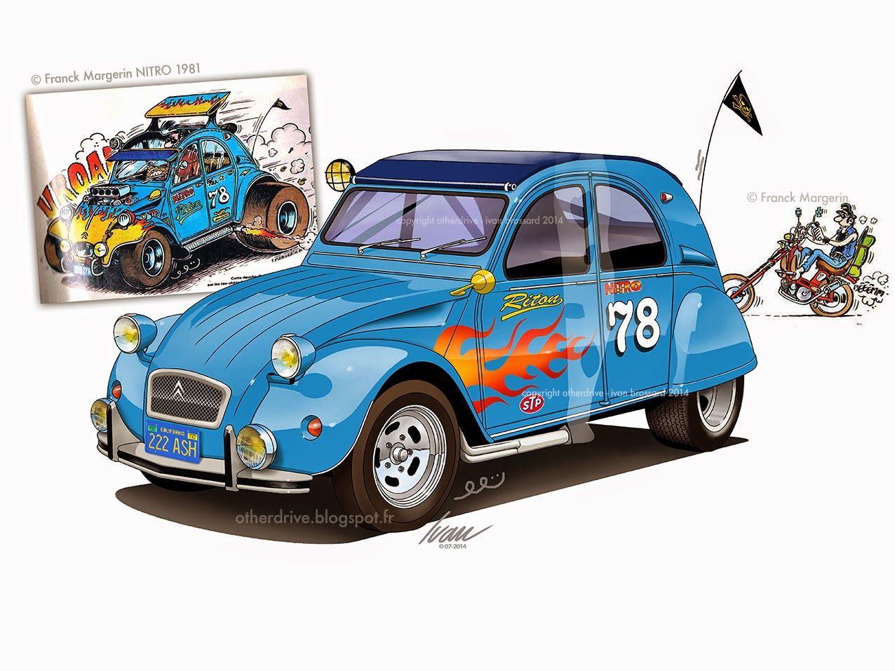 citro u00ebn 2cv tribute to margerin