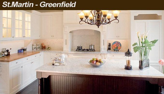 St. Martin Greenfield Kitchen cabinets   Kitchen Ideas   Pinterest ...
