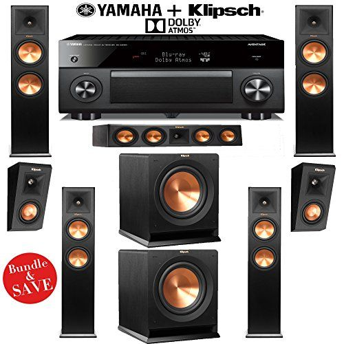 Introducing Klipsch RP280FA 522 Dolby Atmos Home Theater