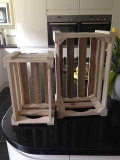 Crates for consumer shows also best images decorating do it yourself log projects rh pinterest