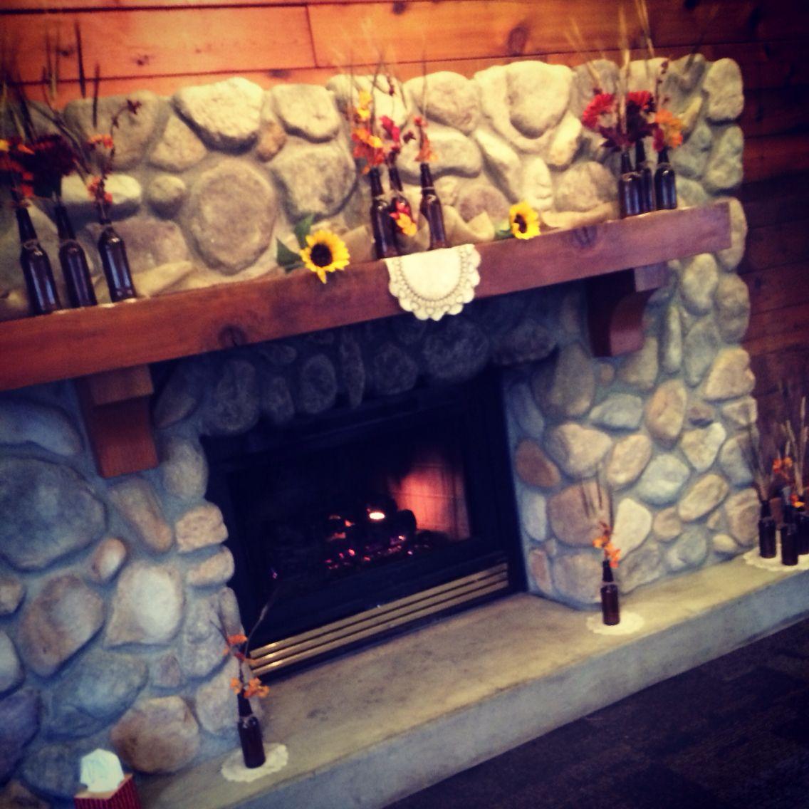 Love The Fireplace At Cedar Ridge Lodge Columbus Ohio This