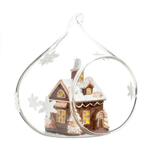 Decoraci n rbol de navidad bosque escandinavo maisons for Adornos navidenos la maison du monde