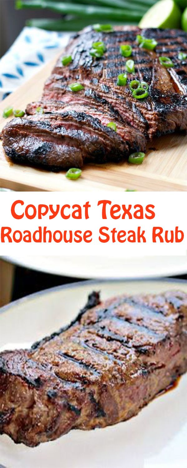 Reviews Copycat Texas Roadhouse Steak Rub #steakrubs