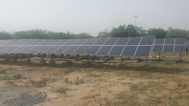 Ntpc Round Up World S Largest Solar Park Nearly Ready India S First Pv Canal Microgrid Solar Solar Pv World