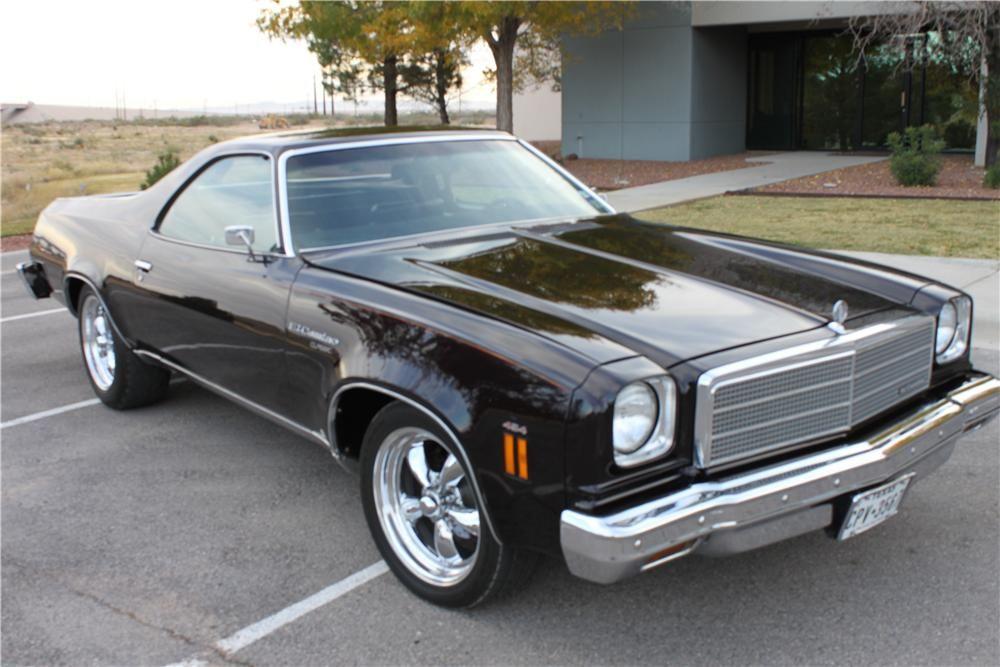 1974 Chevrolet El Camino Lot 64 Barrett Jackson Auction Company