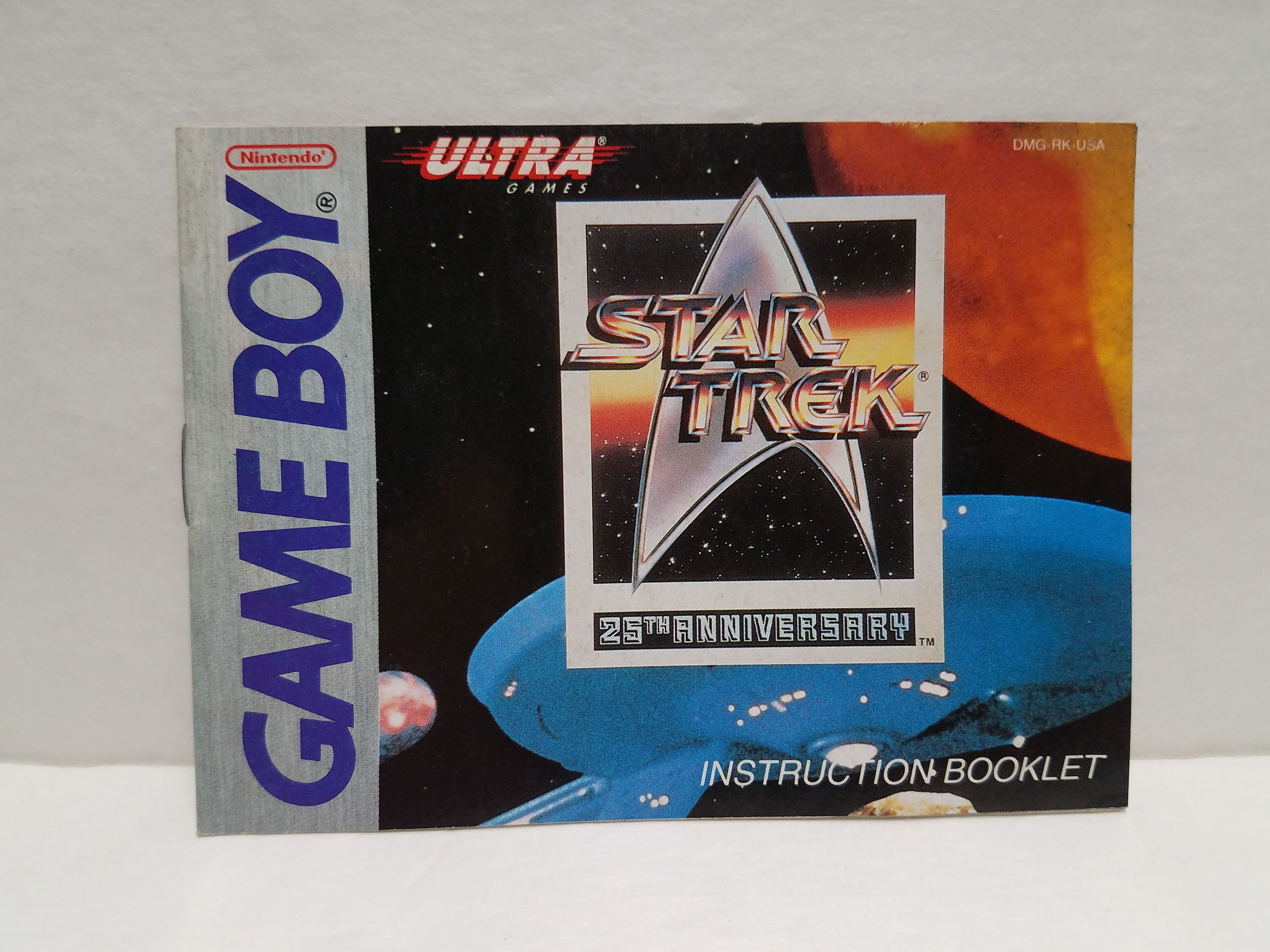star trek 25th anniversary instruction booklet gameboy manual rh pinterest com Star Trek 2012 July-23 star trek 25th anniversary game manual