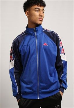 d1dc29d8a Gully Garms vintage sportswear blue Kappa jacket.