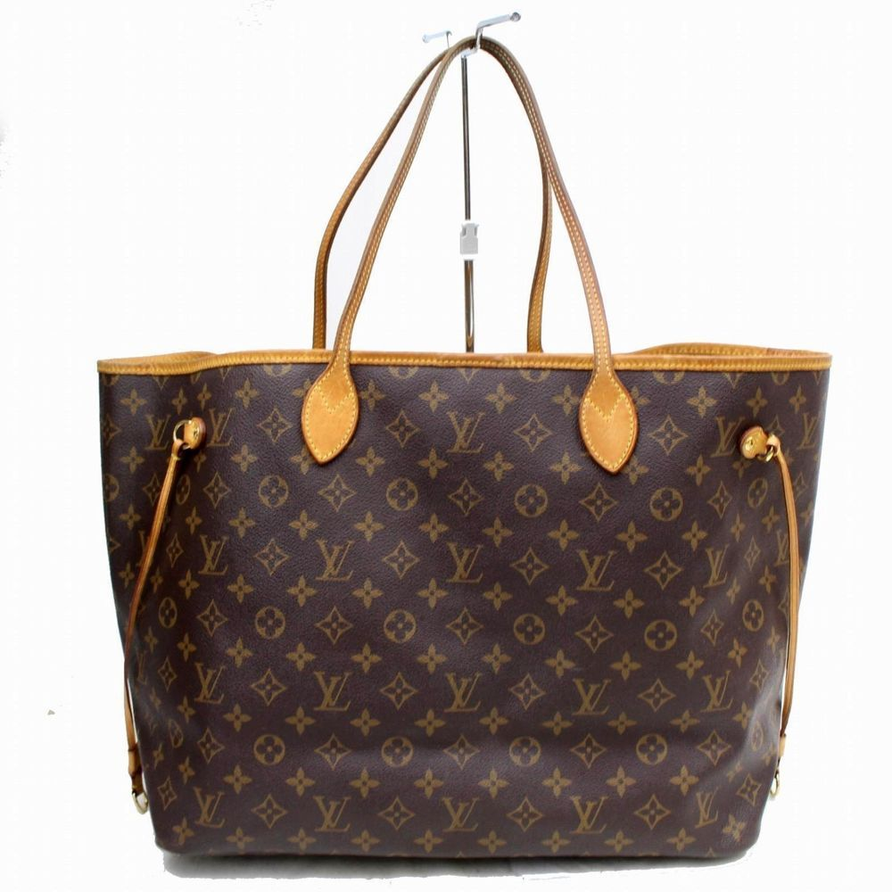 17ead10a168 Authentic Louis Vuitton Tote Bag Neverfull GM Women Brown Handbag L15TO609   LouisVuitton  ToteBag
