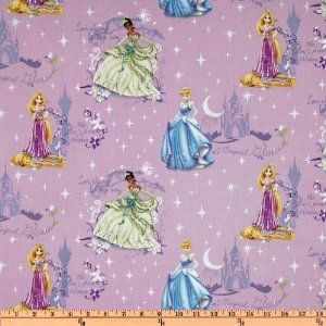 NEW Disney Princess Cinderella Scenic Quilting 100/% Cotton Sold By Yard