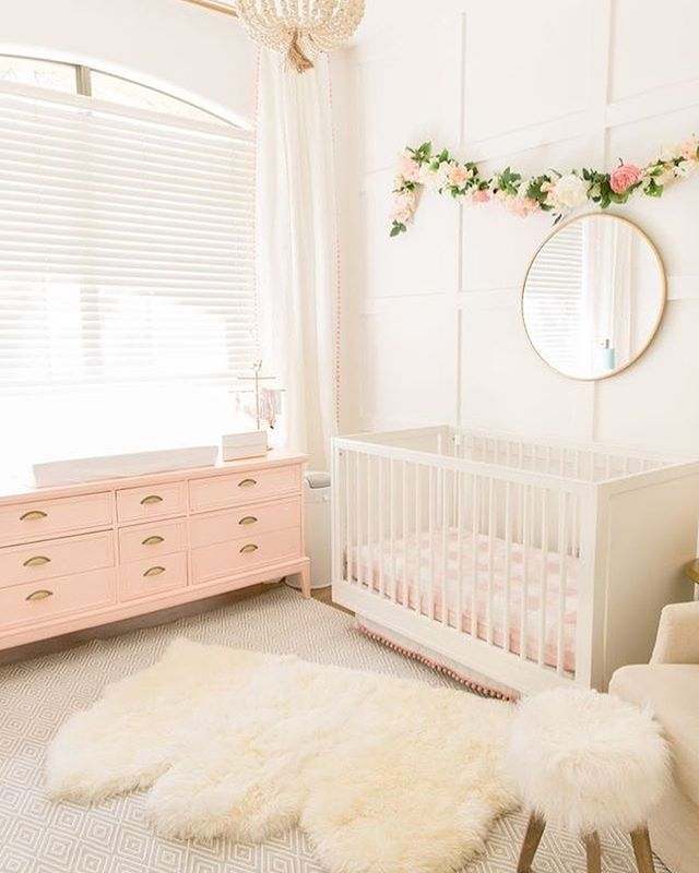 No Need To Spend A Fortune On These: Pretty In Pink Nursery Inspo Nursery Decor That Unit!!! I
