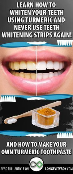 Did You Know That You Can Naturally Whiten Your Teeth Using Turmeric