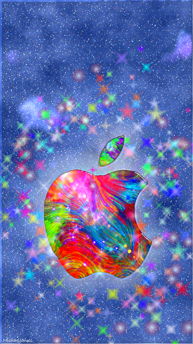 Colored Universe Apple iPhone 5s hd wallpapers available