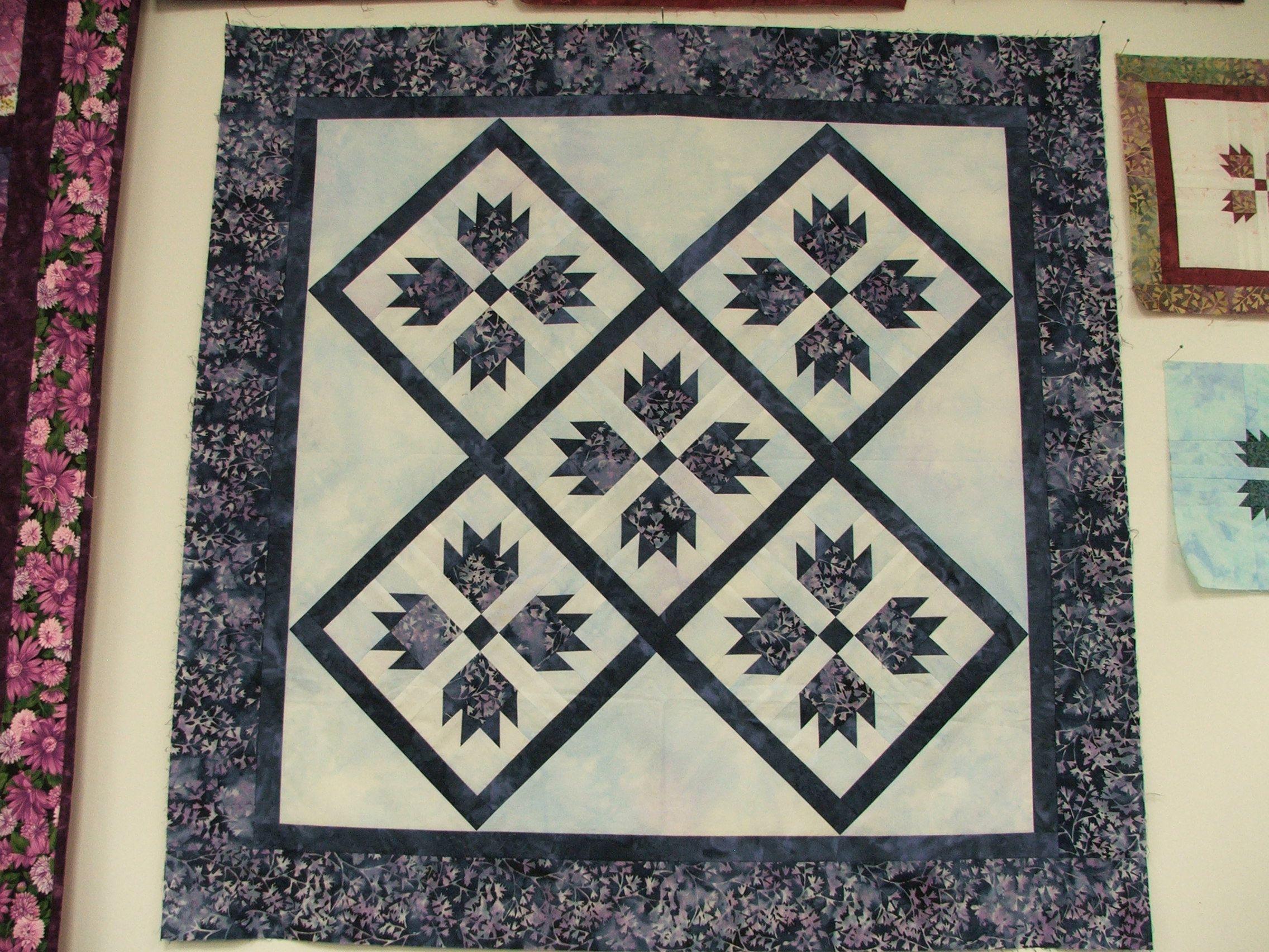A beautiful Bear Paw quilt from my local quilt shop   Little ... : local quilt shops - Adamdwight.com