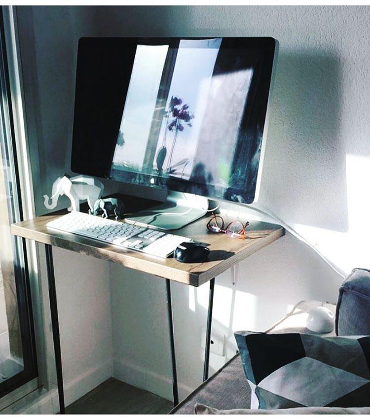 Diy Pour Un Petit Coin Bureau Pratique ;) #Diy #Meuble #Furniture