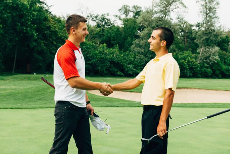 Why Golfers Take Their Hats Off To Shake Hands Everything To Know Shake Hands Poor Sport Golf Lessons