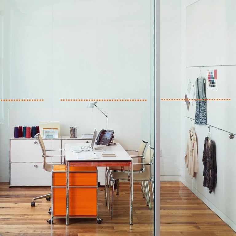 USM Haller Rollcontainer orange | My New Office | Pinterest | Usm ...