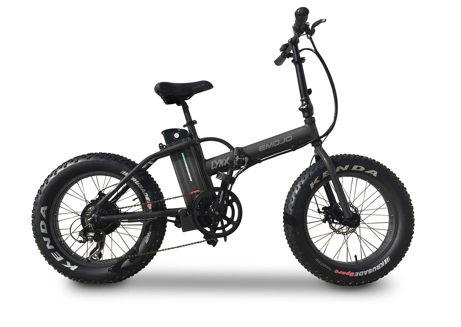 Emojo Lynx 500 Watt 36 Volt Folding Electric Bike Folding