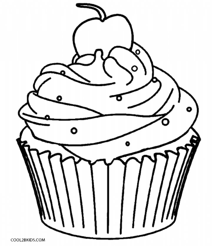 40 Cupcake Coloring Pages Customize Pdf Printables Coloring Pages Cupcake Coloring Pages Color