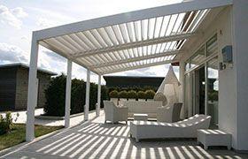 Vente Pergola Aluminium Bioclimaitque A Lames Orientables Abri De Terrasse Pergola Design Pergola Bioclimatique Pergola Terrasse