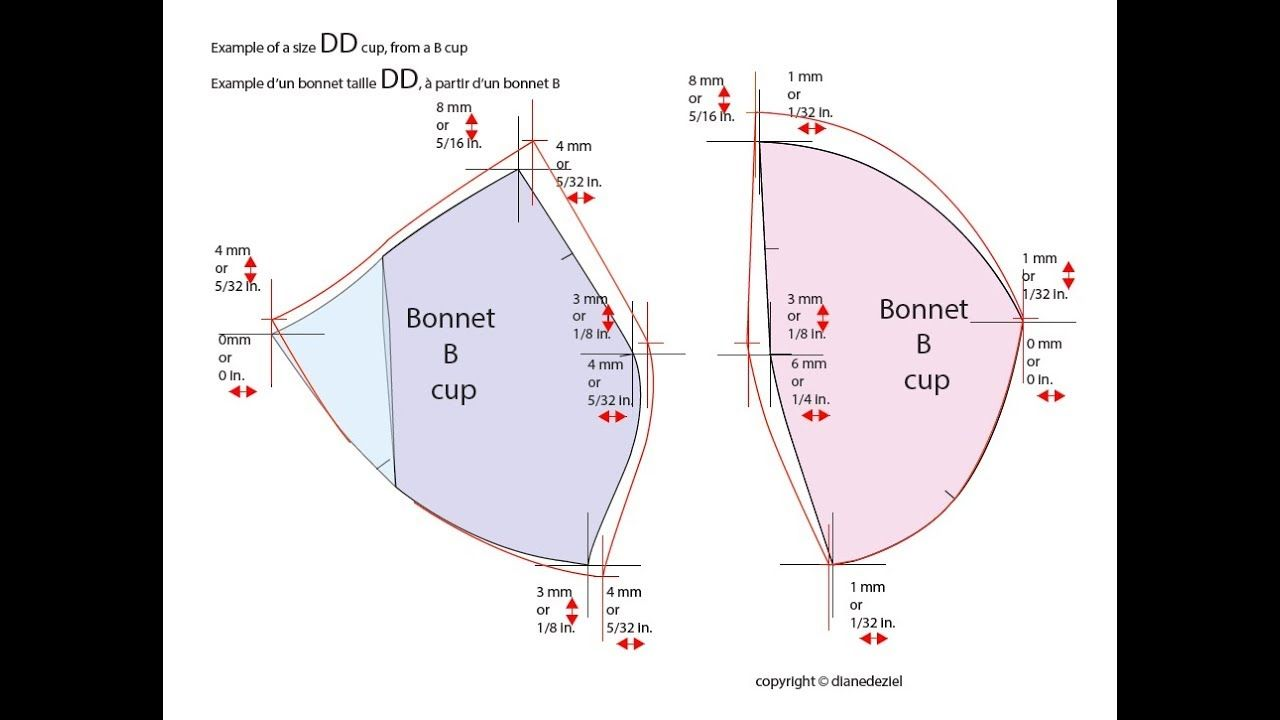 Bra Cup Grading. (With images) Bra cups