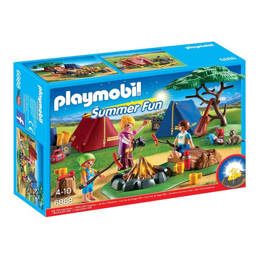Set De Constructie Playmobil Family Fun 8211 Loc De Tabara 6888 Playmobil Best Summer Camps Campsite