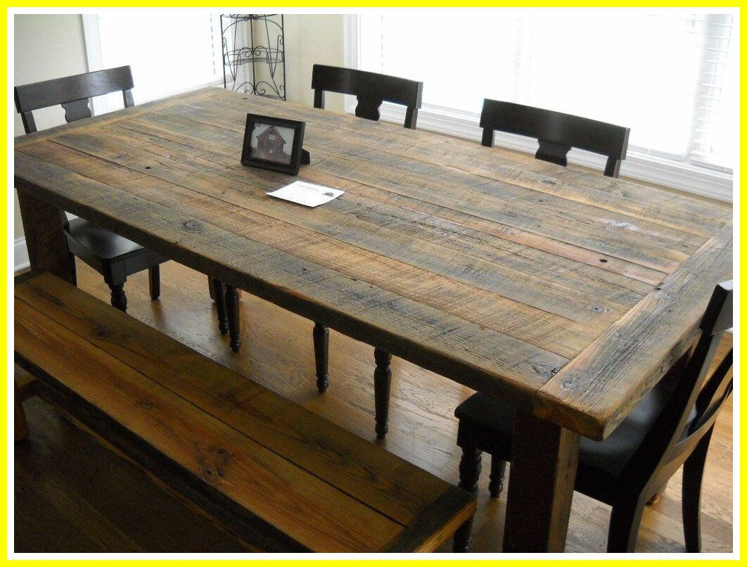 37 Reference Of Small Rustic Table With Bench In 2020 Rustic Kitchen Tables Kitchen Table Wood Wooden Kitchen Table